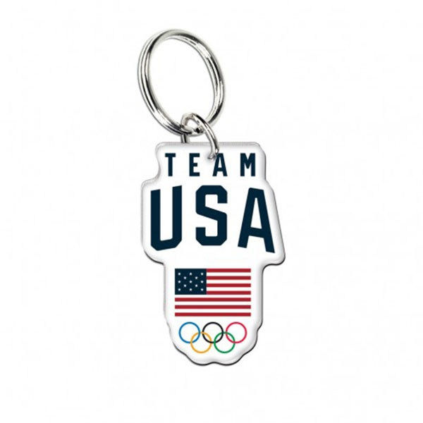 TEAM USA KEY CHAIN