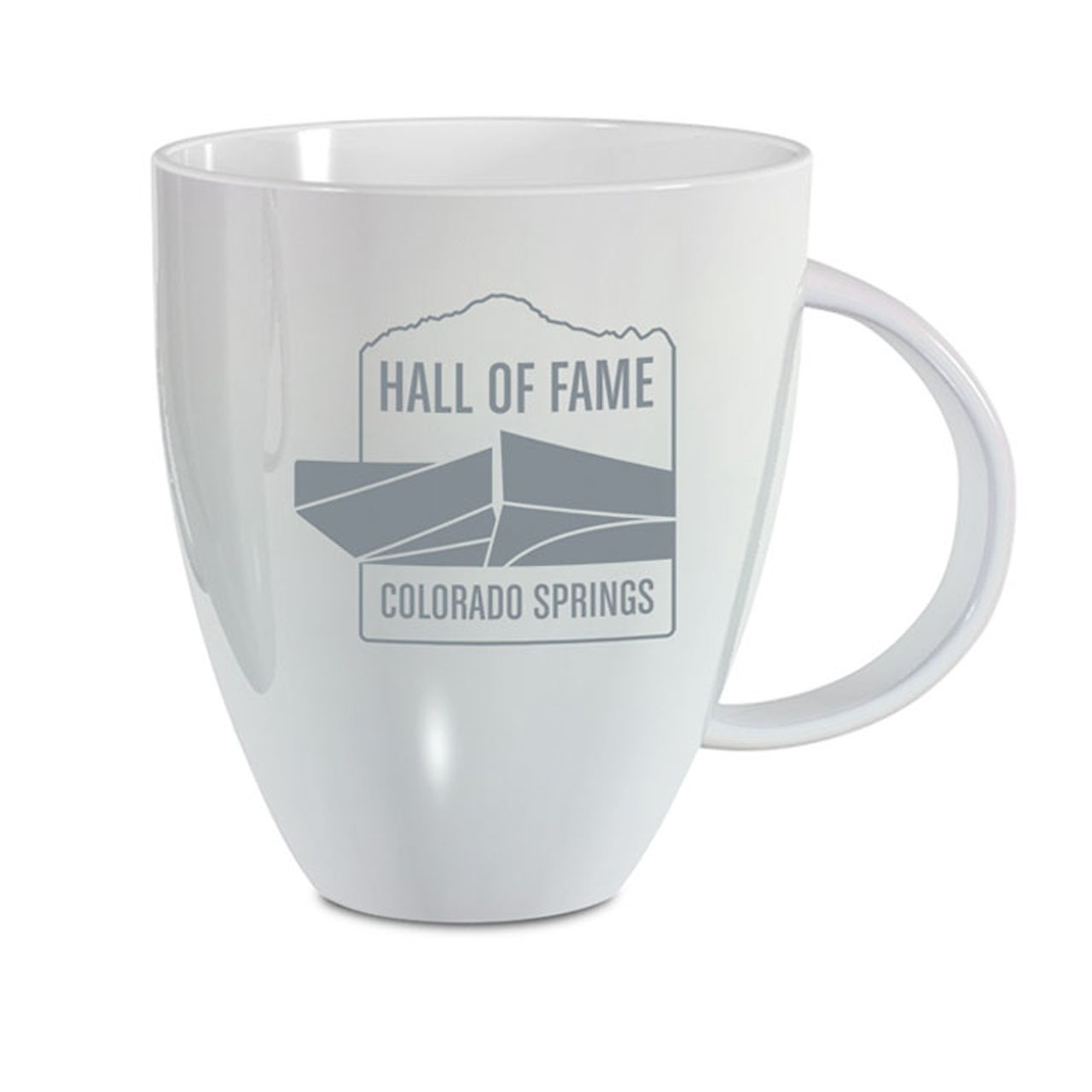 HALL OF FAME 18 OZ WHITE MUG