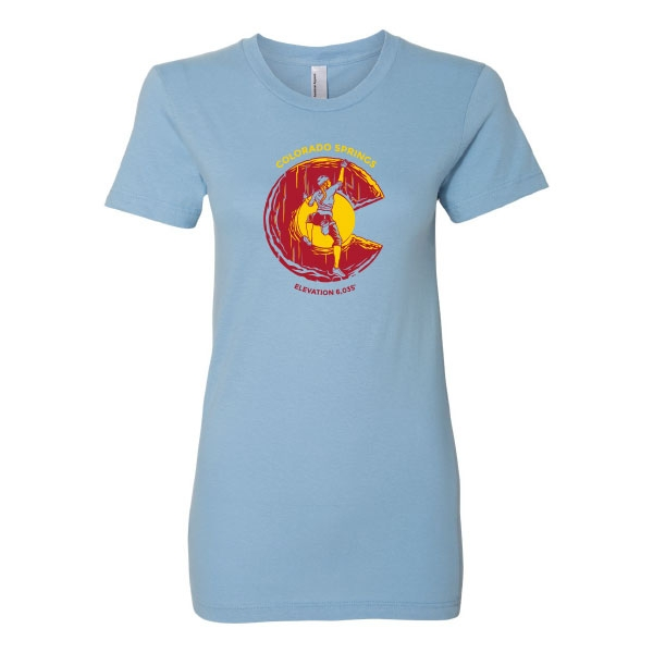 LADIES COLORADO CLIMBING T-SHIRT