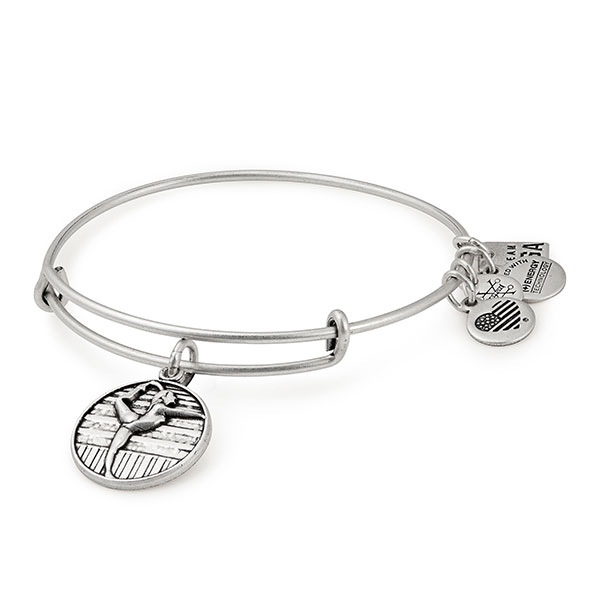 ALEX & ANI USA GYMNASTICS BANGLE BRACELET