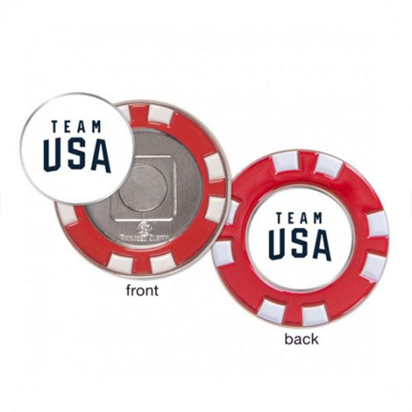 TEAM USA GOLF POKER CHIP MARKER