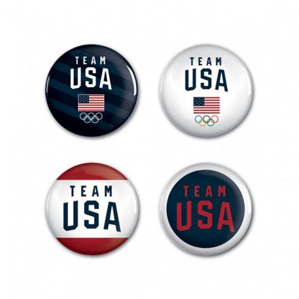 TEAM USA BUTTON 4 PACK