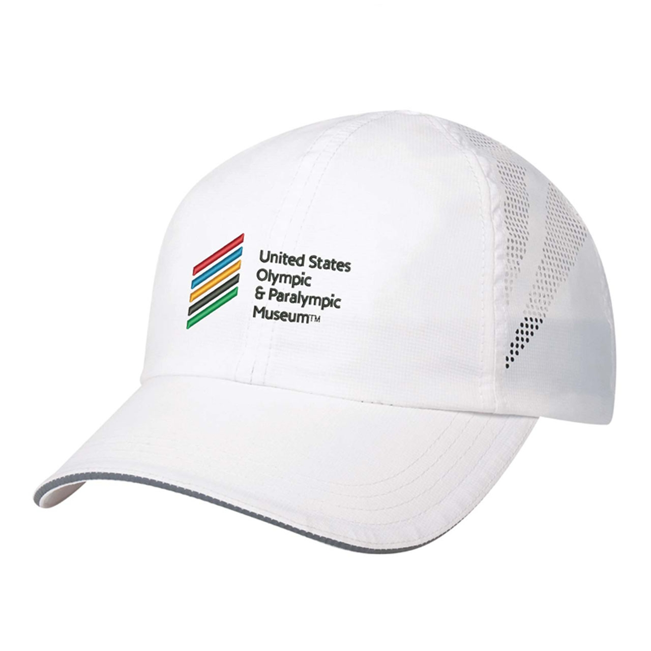 ADULT WHITE USOPM LOGO HAT