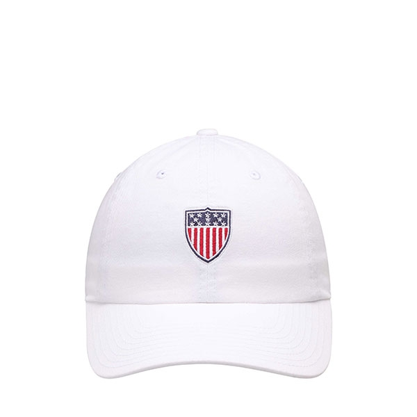 TEAM USA ADULT WHITE SHIELD HAT