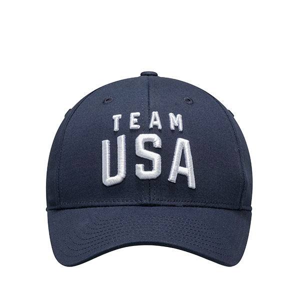 TEAM USA YOUTH NAVY SHIELD HAT