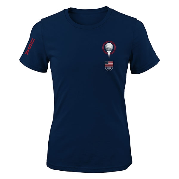 LADIES TEAM USA GOLF BALL TEE T-SHIRT