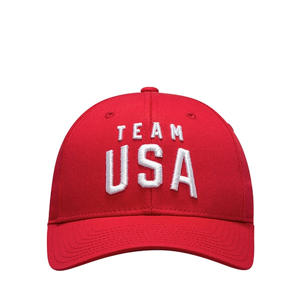 TEAM USA YOUTH RED SHIELD HAT